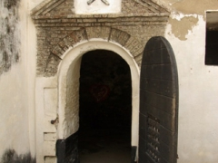 A grim prison (with little in the way of ventilation) at Elmina Castle