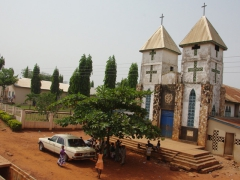 Christianity appears to be the dominant religion in Ghana, with churches and cathedrals in every city