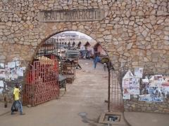 Entrance portal to Kumasi's Asafo Market