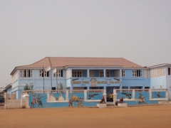 Jamestown Mantse Palace in Accra