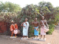 Musical figurines in Tamale