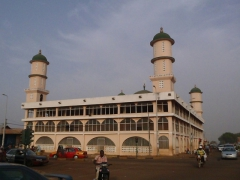 Tamale has a strong muslim influence (as evidenced by this massive mosque and the complete lack of available alcohol)