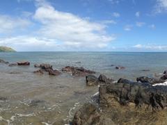 Volcanic rocks; Nacula Island