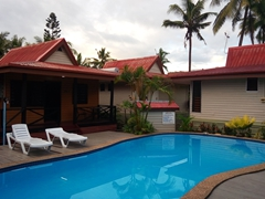 Budget bungalow at Beach Escape Resort in Nadi