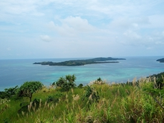 Beautiful view as we hike up Tavewa Island