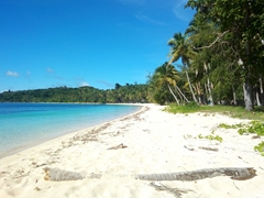 The ever gorgeous Blue Lagoon on Nanuya Island