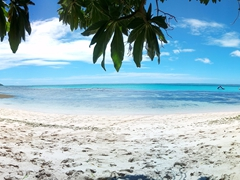 Panoramic of Blue Lagoon Beach Resort's beach