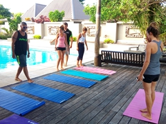 Free yoga classes on offer at Blue Lagoon Beach Resort