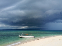 A storm moves in; Kandavu Island