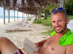 Lots of shady spots to lounge the day away; Bounty Island