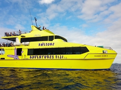 Yasawa Flyer transport linking Bounty Island to Beachcomber