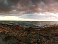 Pretty sunset at Beachcomber Resort