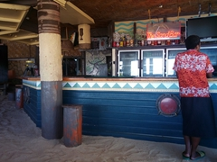 The Sand Bar - lots of happy hour specials at this bar on Beachcomber Island