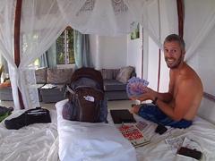 Robby ballin' in Fiji!