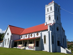 The Taveuni Catholic Church, also known as the Wairiki Mission