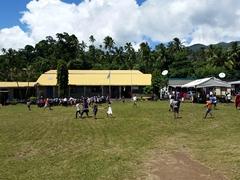 School scene; Taveuni
