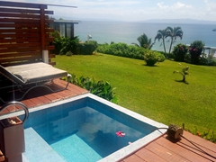 Our villa on the garden island of Taveuni; Makaira Resort