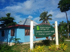 The Lavena Coastal Walk & Visitor Center - the friendly staff will get a local guide to show you the way to the waterfall