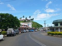 Main street; Savusavu