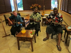 Evening entertainment; Koro Sun Resort