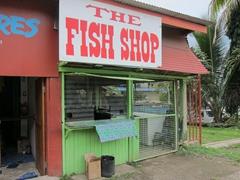 Fish shack in Savusavu