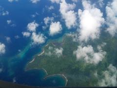 Scenic flight to Vanua Levu