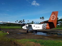Fiji Airways puddle hopper
