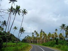 Vanua Levu is a pretty island with views like this as we drove around