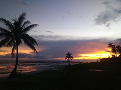 Another gorgeous sunset at Siga Siga Sands