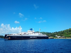 Goundar Shipping vessel linking Vanua Levu to the rest of Fiji
