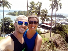 Selfie shot in Savusavu