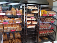 "The ""Hot Bread Kitchen"" where the best selection of bread can be found; Savusavu"