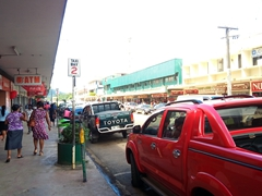 Walking through Labasa, the largest city in Vanua Levu