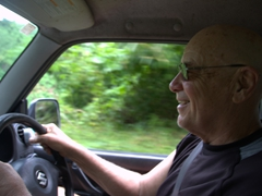 Bob enjoying his off roading experience