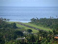 Savusavu's tiny airport