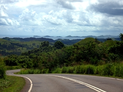 Nice vista as we drive to the north part of Vanua Levu