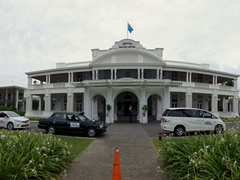 Grand Pacific Hotel, an old colonial hotel in Suva
