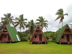 Camp huts; Pacific Harbour