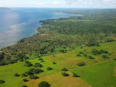 View of Fiji's biggest island, Viti Levu