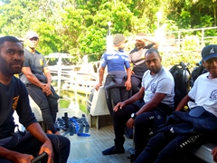 The friendly and competent dive guides who probably have the best job in the world; Beqa Adventure Divers