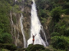 Loving the Mele Cascades - definitely one of Vanuatu's must dos!