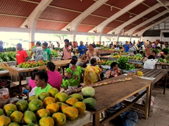 Friendly vendors and colorful fruit are a photographer's delight