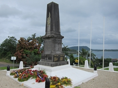 WW I memorial; Port Vila
