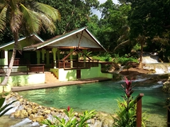Villa with a private plunge pool; Mele Cascades