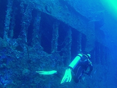 Diving the SS President Coolidge, one of the world's most acccessible wrecks