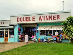 Double Winner store; downtown Luganville