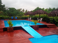Swimming pool; Turtle Bay Lodge