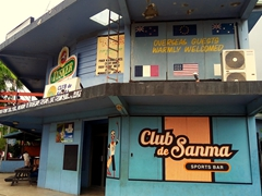 Overseas guests warmly welcomed at Club de Sanma; Luganville
