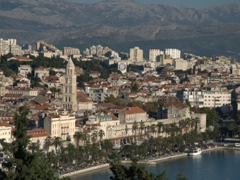 View of Split from Marjan Hill