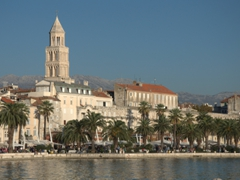 Split's waterfront promenade (Riva)